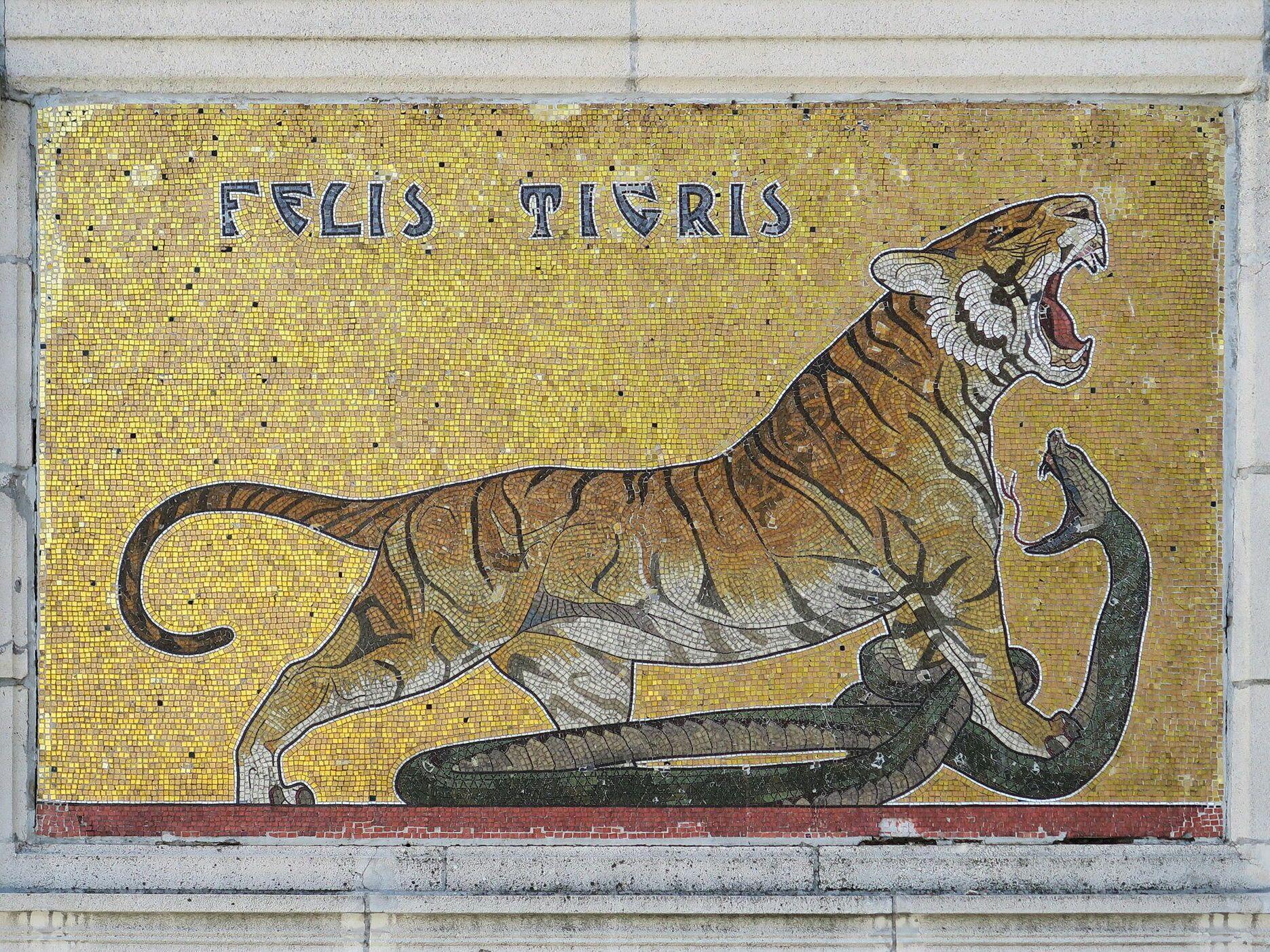 Tiger Art Nouveau World
