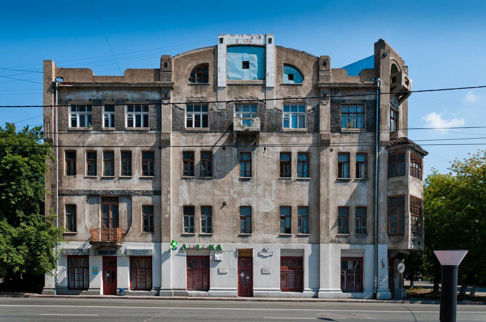 Доходный дом Печокас | Мир модерна