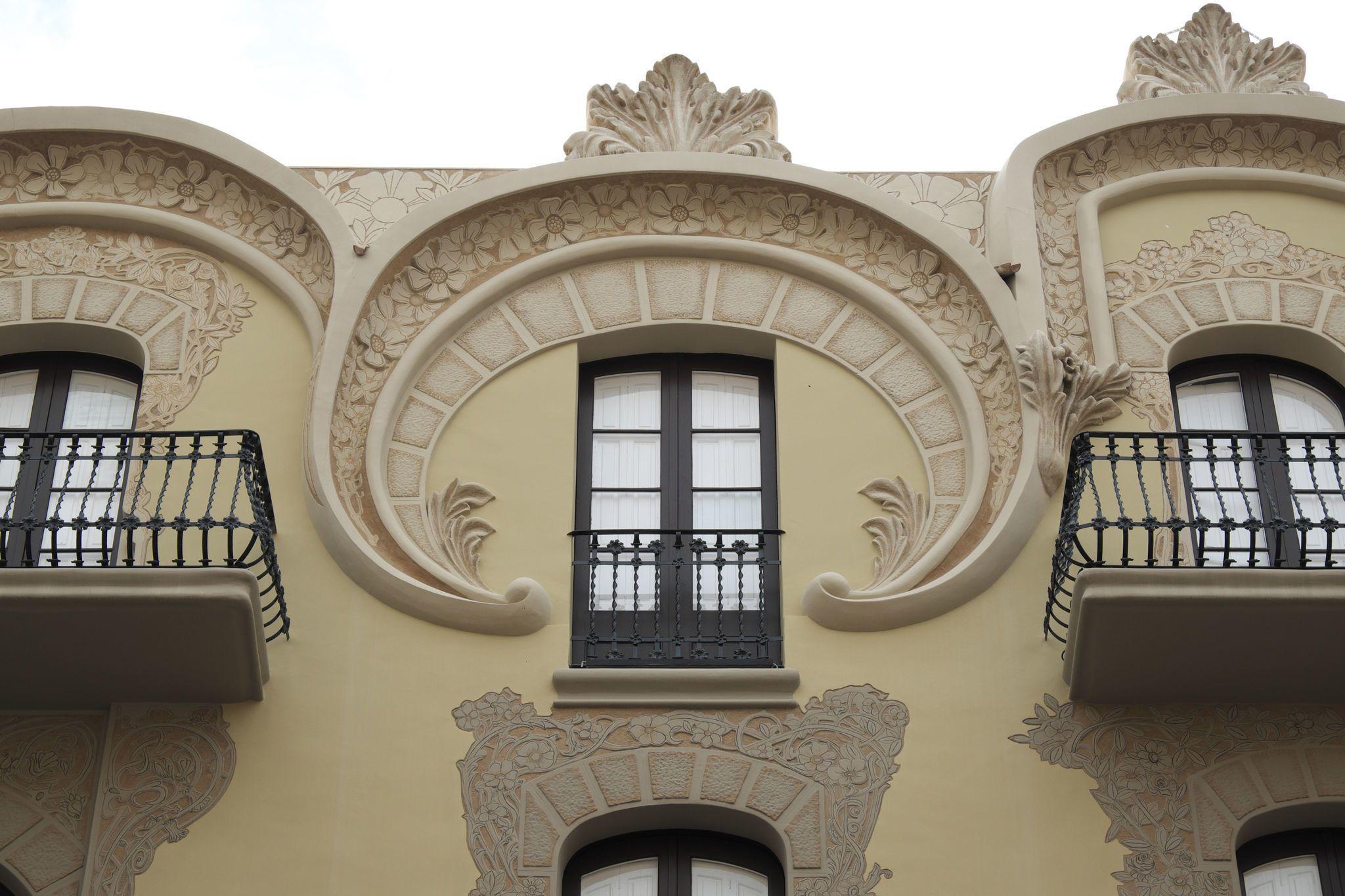 Casa & Co Milazzo sgraffito   art nouveau world